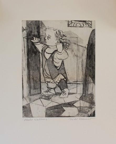 Will Barnet - Prints - Child Walking
