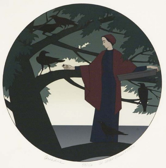 Will Barnet - Prints - Ariadne