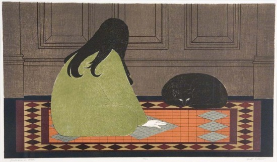 Will Barnet - Prints - Dialogue in Green