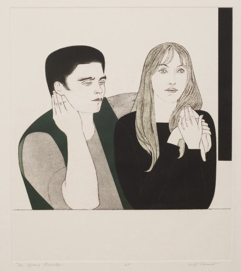 Will Barnet - Prints - Young Couple, The