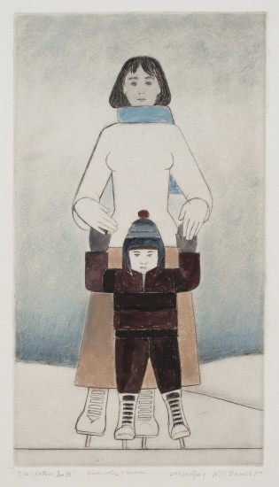 Will Barnet - Prints - Skaters, The