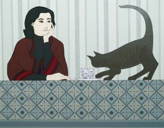 Will Barnet - Prints - Meditation and Minou