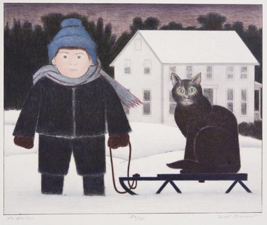 Will Barnet - Prints - Sled, The