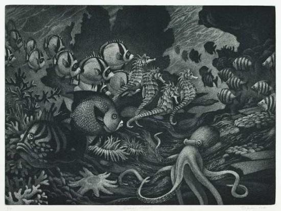 William Behnken - Gyotaku Memories