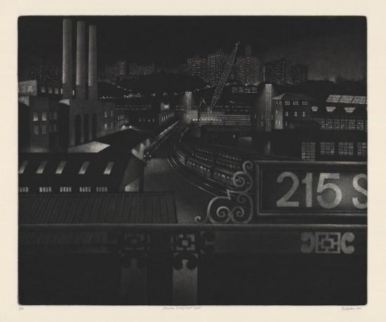 William Behnken - Inwood Vista-Night Shift