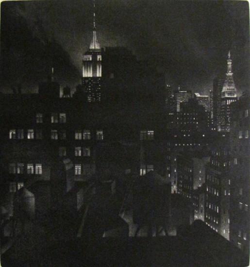 William Behnken - Manhattan Chiaroscuro