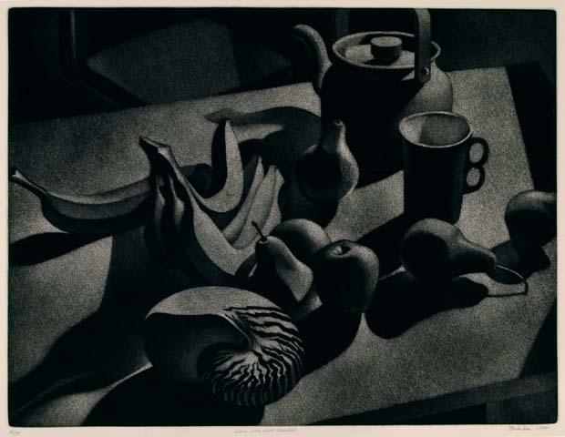 William Behnken - Still Life with Nautilus