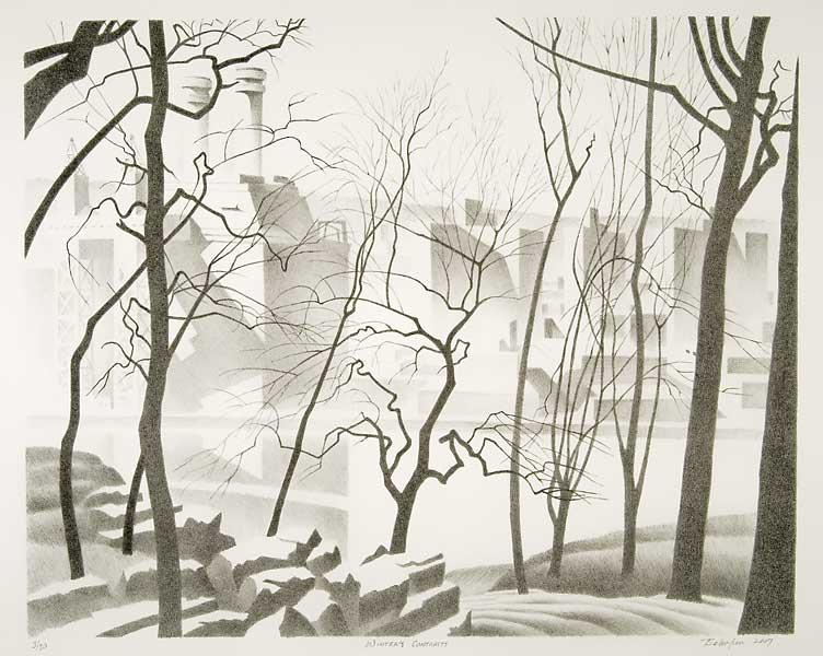 William Behnken - Winter's Contrasts